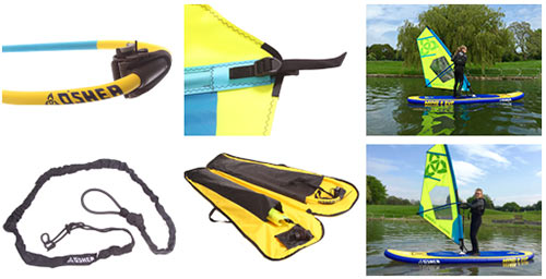 O'Shea Wind SUP Accessories